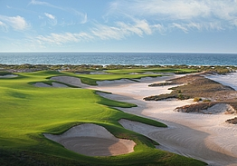 Saadiyat Beach Golf Club   Golf i Abu Dhabi