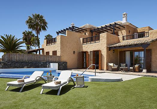 Hotel Suite Villa María | Golf Tenerife | Villa 135 m2 med pool