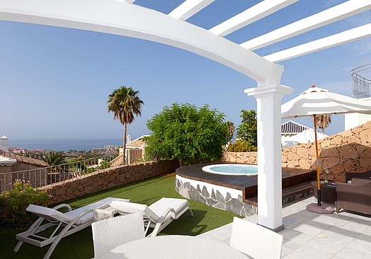 Hotel Suite Villa María | Golf Tenerife | Villa 115 m2 med jacuzzi