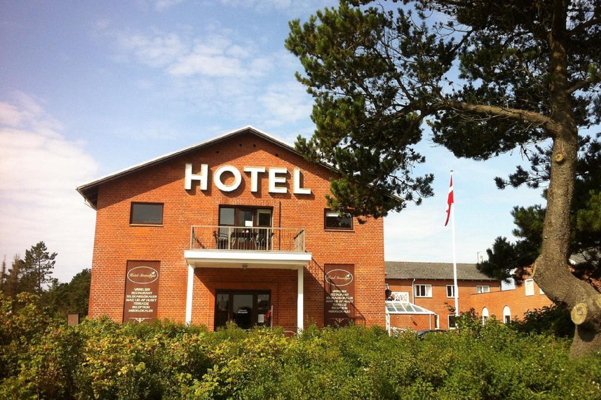 Karta Danmark Hirtshals.Hotel Strandlyst Nordicgolfers Com